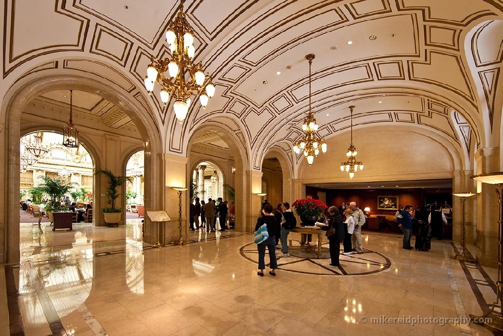 Palace Hotel Lobby