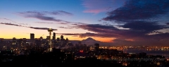 Dramatic Seattle Skyline To order a print please email me at  Mike Reid Photography : sunset, sunrise, seattle, northwest photography, dramatic, beautiful, washington, washington state photography, northwest images, seattle skyline, city of seattle, puget sound, aerial san juan islands
