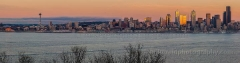 Golden Glow Seattle : sunset, sunrise, seattle, northwest photography, dramatic, beautiful, washington, washington state photography, northwest images, seattle skyline, city of seattle, puget sound, aerial san juan islands, alki, west seattle