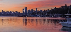 Morning on Lake Union : lake union, sunset, sunrise, seattle, northwest photography, dramatic, beautiful, washington, washington state photography, northwest images, seattle skyline, city of seattle, puget sound, aerial san juan islands