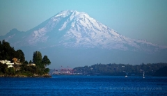 Rainier Discovery Park 400mm  How massive Mount Rainier is at 400mm from Discovery Park To order a print please email me at  Mike Reid Photography/a> : sunset, sunrise, seattle, northwest photography, dramatic, beautiful, washington, washington state photography, northwest images, seattle skyline, city of seattle, puget sound, aerial san juan islands, reid, mike reid photography