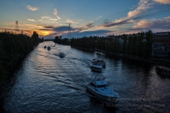 Returning Ship Canal : sunset, sunrise, seattle, northwest photography, dramatic, beautiful, washington, washington state photography, northwest images, seattle skyline, city of seattle, puget sound, aerial san juan islands, fremont bridge, ship canal