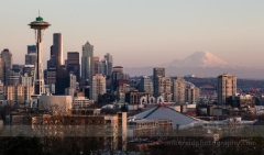 Seattle Kerry Park Sunset Rainier Space Needle To order a print please email me at  Mike Reid Photography : sunset, sunrise, seattle, northwest photography, dramatic, beautiful, washington, washington state photography, northwest images, seattle skyline, city of seattle, puget sound, kerry park