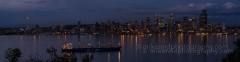 Seattle Skyline Alki Darker : sunset, sunrise, seattle, northwest photography, dramatic, beautiful, washington, washington state photography, northwest images, seattle skyline, city of seattle, puget sound, aerial san juan islands, reid, mike reid photography