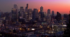 Seattle Winter Cityscape To order a print please email me at  Mike Reid Photography : sunset, sunrise, seattle, northwest photography, dramatic, beautiful, washington, washington state photography, northwest images, seattle skyline, city of seattle, puget sound, aerial san juan islands, reid, mike reid photography