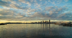 Wide Seattle Cloudscape